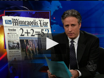 The Daily Show Owns Newspapers
